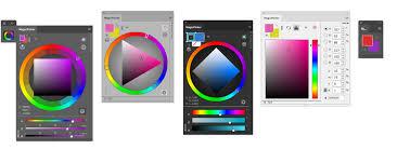 features of magicpicker color wheel for photoshop cc cs6 cs5 cs4