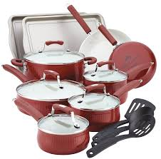 amazon com paula deen savannah collection aluminum nonstick 17