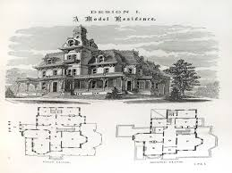 Queen Anne House Plans Historic Victorian Mansion Floor Plans And House Old The Luxihome