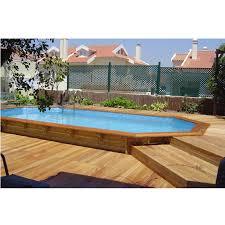 rivestimento in legno per piscine fuori terra piscine seminterrate usate una fonte di ispirazione per