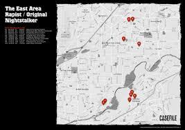 halloween city rancho cordova casefile the east area original nightstalker map 1 the