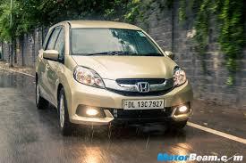 Interior Mobilio Honda Mobilio Motorbeam Indian Car Bike News Review Price