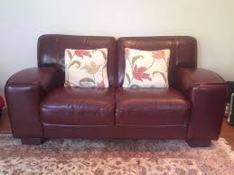 Costco Leather Sofa Review Furniture Gorgeous Burgundy Leather Sofa For Living Room Idea