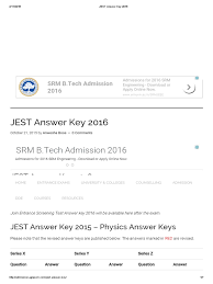 jest answer key physics 2015 email internet