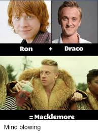Mind Blowing Meme - draco ron macklemore mind blowing meme on sizzle