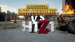 pubg vs h1z1 pu battlegrounds un concurrent sérieux à h1z1