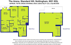 3 bedroom penthouse for sale in the arena nottingham ng1 ng1