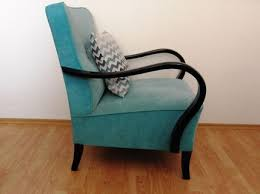 Turquoise Armchair Restored Turquoise Art Deco Armchair From 1950 U0027s Updatechair Com