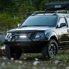 2014 Nissan Frontier Roof Rack by Rigid Industries 40598 Led Black Cnc Machined Main Grille