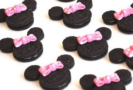 minnie mouse fondant bows 24 count birthday cupcake