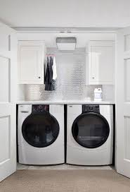 Contemporary Laundry Room Ideas Ideas Washer Dryer Closet Contemporary Laundry Room Clean