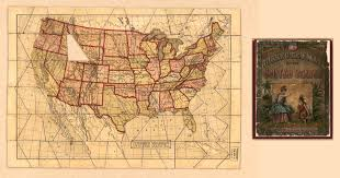 Old United States Map by History Of Puzzles Maps Used To Teach Geography In The 19th Century