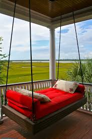 Home Decor In Charleston Sc Porch Swing Bed With Marsh And Ocean Views Charleston Sc