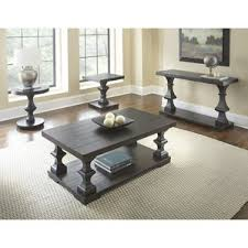 Black Coffee Table Sets Coffee Tables Wayfair - Living room table set