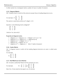 gate study material linear algebra mathematics by panel of