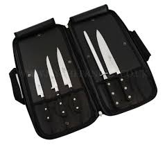 sabatier kitchen knives sabatier kitchen knife bag 4 knives u0026 1 honing steel