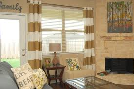 Navy Blue And White Horizontal Striped Curtains Horizontal Stripe Curtain Home Design