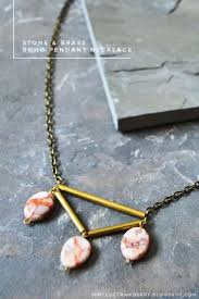make necklace with stone images 16 adorable diy boho accessories to rock styleoholic jpg