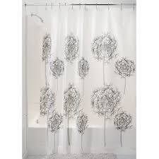 Amazon Shower Curtains Amazon Com Interdesign Allium 72 Inch By 72 Inch Shower Curtain