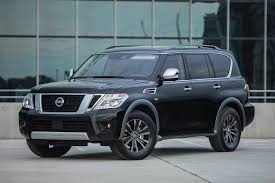 nissan armada 2018 interior 2018 nissan armada gets new tech upgrades has starting price of