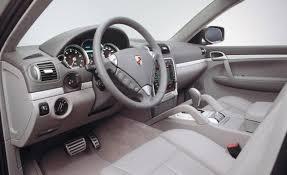 Porsche Cayenne Red Interior - 2008 porsche cayenne information and photos zombiedrive