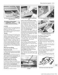 ford sierra 1992 2 g body electrical system workshop manual