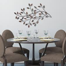 whitehall products 8 in oak leaf aluminum wall decor 10246