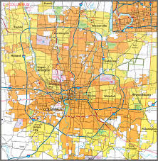 map of columbus printable map of columbus ohio printable maps