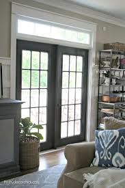 Patio French Doors With Blinds by Patio Doors What Are Patio Doors French To Deck Safeare With