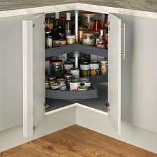 how to fit howdens corner fillet carousel corner storage howdens