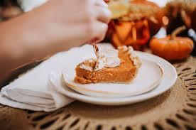 sweet potato pie with boozy marshmallows a beautiful mess