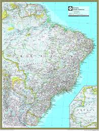 south america map atlas eastern south america atlas wall map maps