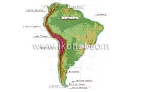 south america map equator earth geography configuration of the continents south