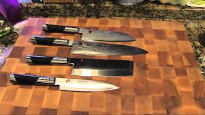 miyabi 7000 pro knives by henckel youtube