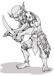 dungeons dragons goblin coloring free printable