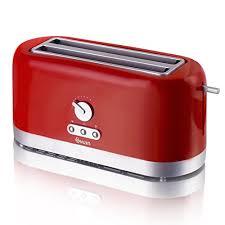 Best Toaster Uk Swan 4 Slice Long Slot Toaster Cream Amazon Co Uk Kitchen U0026 Home