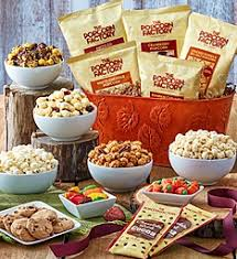 popcorn baskets baskets gift baskets of delicious snacks the popcorn factory