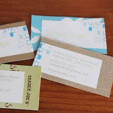 Recycle Paper Business Cards Diy Business Cards Made Cheap From Scraps Of Paper Clothespins