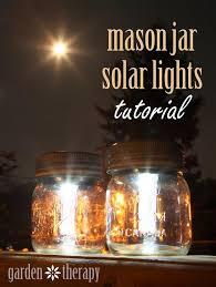 Patio Solar Lights Jar Solar Lights For Patio On Summer Nights Nature Hacks
