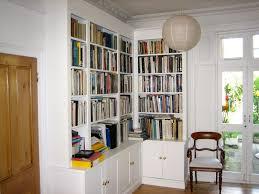 Corner Bookcase Units Handmade Corner Bookcase Unit Dulwich The Bookcase Co