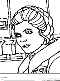 princess leia coloring page coloring home