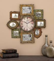picture frames wall clocks for an unique look uniq home decor