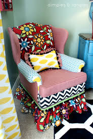 Glue For Upholstery How To Reupholster A Chair With A Glue Gun Way Back