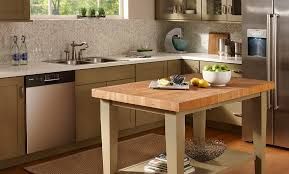 butcher block kitchen table butcher block kitchen island hac0 com intended for table