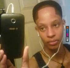 Messed Up Hairline - hairline fail i see bart simpson jamie foxx and frankenstein in