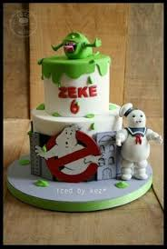 ghostbusters cake everything on this cake was handmade and edible