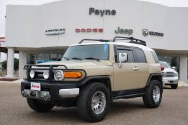 toyota fj cruiser used toyota fj cruiser for sale brownsville tx cargurus