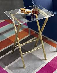 home goods folding table acrylic table shop home goods pinterest acrylic table