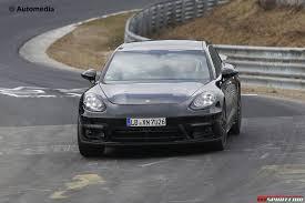 Porsche Panamera Next Gen - next gen porsche panamera spy shots at the nurburgring gtspirit
