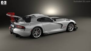 Dodge Viper Gts 2016 - 360 view of dodge viper acr 2016 3d model hum3d store